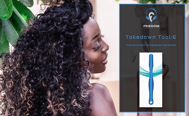 Takedown Tool-E - The Best Tool for Efficient & Easy Removal of Sewn-in Hair Extensions