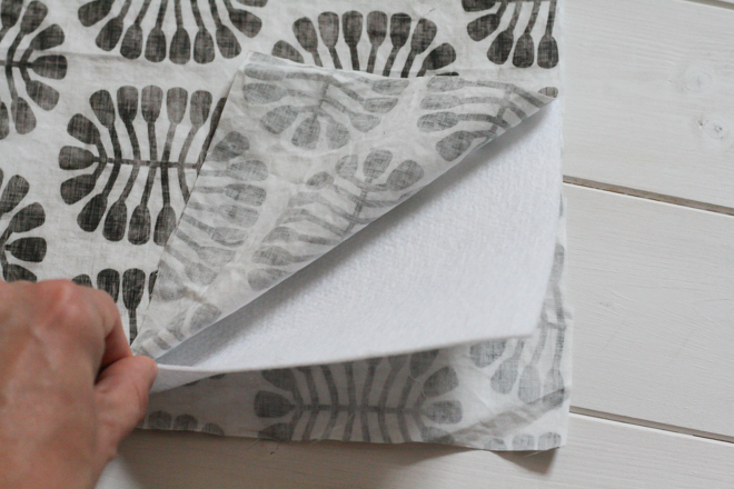 How to Make a Hand Sewn Fabric Organizer